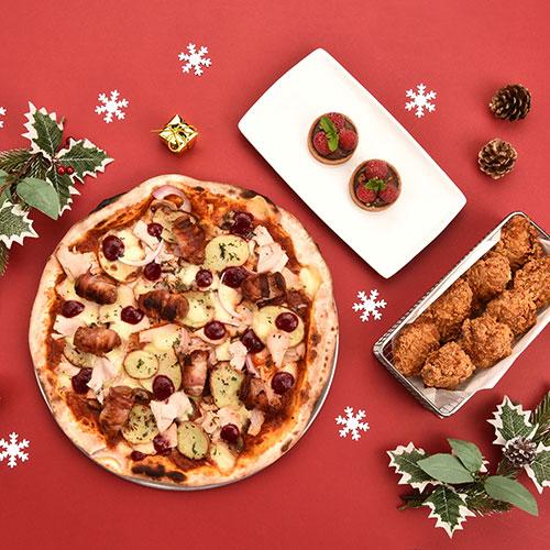 Ain't no celebration like a pizza feast